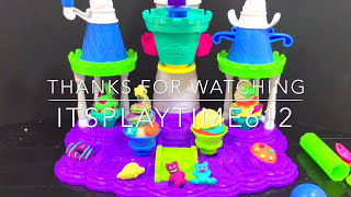 Play-Doh | itsplaytime612 ICE CREAM CASTLE Creative Activity for Kids