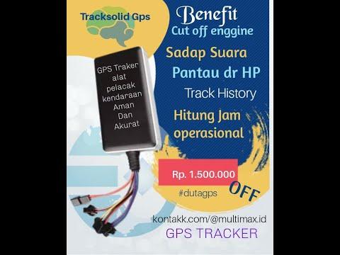 GPS Tracker pemasangan gratis garansi selamanya