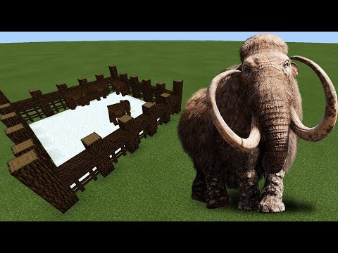 How To Make A MAMMOTH Farm In Minecraft PE