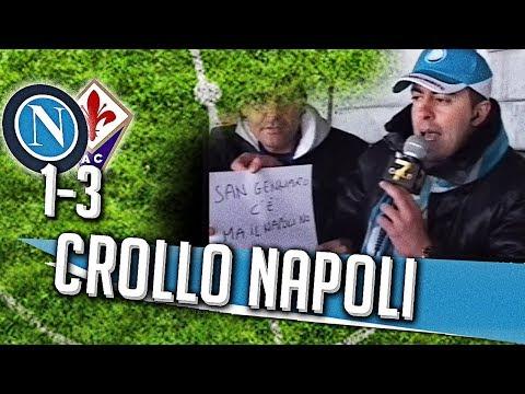 Direttastadio 7Gold - (NAPOLI FIORENTINA 1-3) IL CROLLO DEL NAPOLI