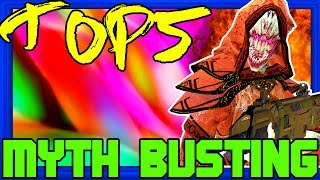 Crawling Keeper! Black Ops 3 Zombies | Top 5 Myths of the Week #1