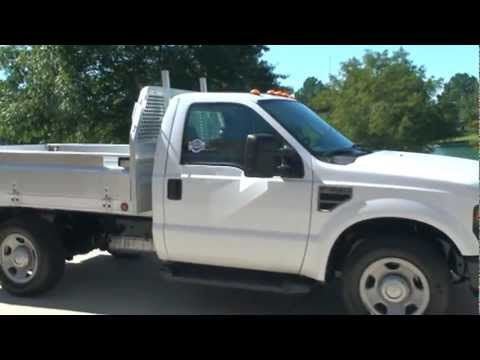 2008 FORD F350 XL V8 WORK TRUCK UTILITY ALUMINUM BED FOR ...