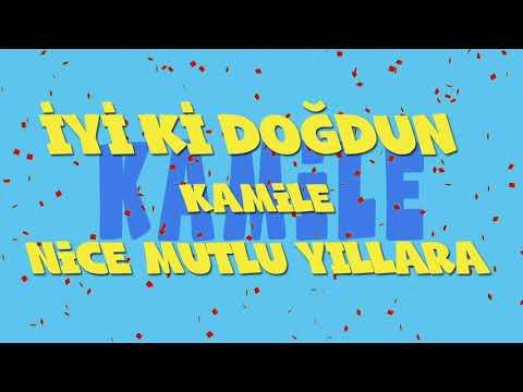 İyi ki doğdun KAMİLE - İsme Özel Ankara Havası Doğum Günü Şarkısı (FULL VERSİYON) (REKLAMSIZ)