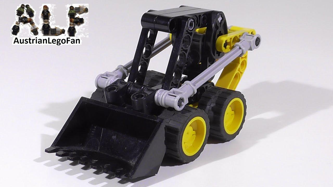 lego technic 8418 mini loader mini radlader lego speed. Black Bedroom Furniture Sets. Home Design Ideas