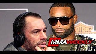 Tyron Woodley on Joe Rogan's Disparaging Stats after UFC 214 thumbnail