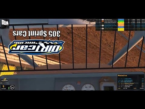 iRacing Dirt 305 Sprint Cars: Twin 20s from Williams Grove