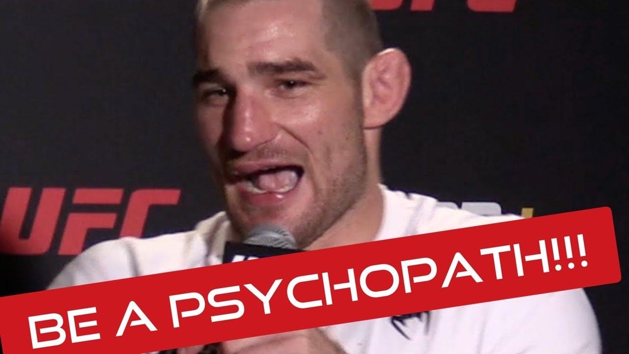 "Sean Strickland: ""Own it Man! Be a Psychopath!!"" It's FUN   UFC Vegas 33 Post"