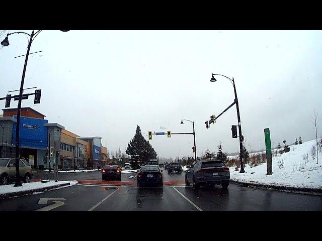 Richmond BC Snow 2021 Second day
