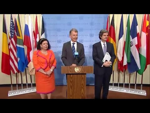 Iran Nuclear Deal still Supported by UK, Germany, & France - Media Stakeout (24 June 2019)