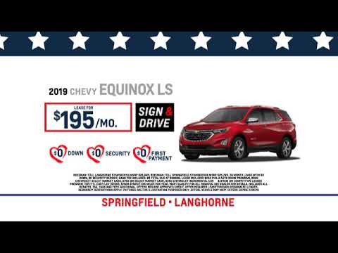 Reedman Toll Auto Group Chevrolet February 2019 Lease Specials