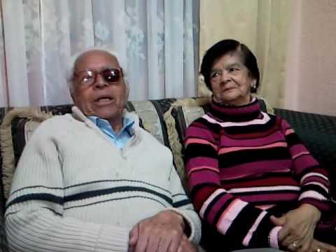 Historia de amor, Israel PEREZ y su esposa Teresa