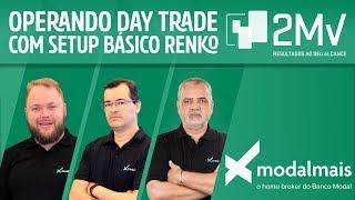 Operando Day Trade em um Setup Básico com Renko