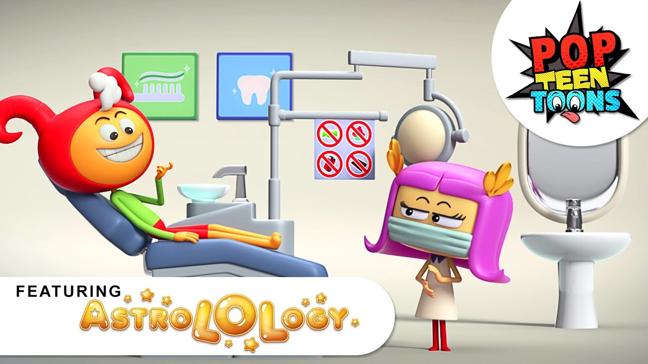 AstroLOLogy: My Pretty Dentist | Doctor Who Series | Funny Cartoons for Children | Pop Teen Toons