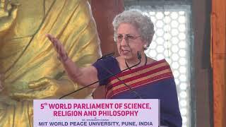 Session 2- Speech By Speaker- Dr. Armene Modi at 5th World Parliament