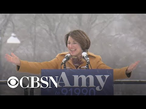 Amy Klobuchar announces 2020 presidential bid