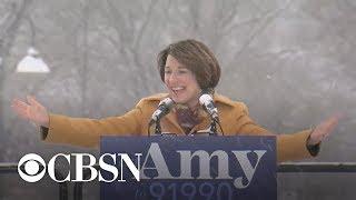 Amy Klobuchar Announces 2020 Presidential Bid