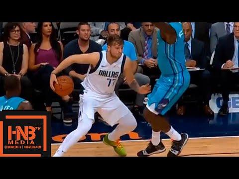 Dallas Mavericks vs Charlotte Hornets 1st Qtr Highlights   10.12.2018, NBA Preseason