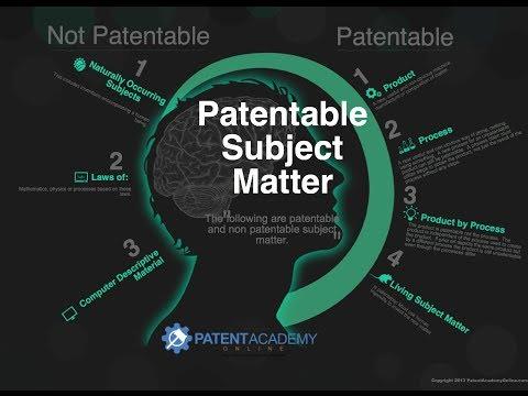 Patent Law Infographics - PatentAcademyOnline