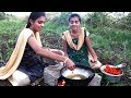 Farm fresh cauliflower chilly prepared by my Village Two Sisters | Villages Style Food