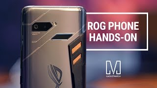 ROG Phone Hands-On: Ultimate gaming device?