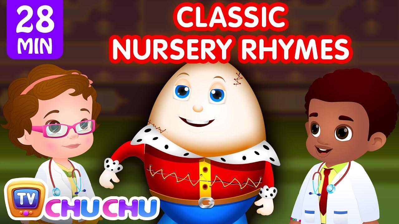ChuChu TV Classics - Humpty Dumpty + More Popular Baby Nursery Rhymes