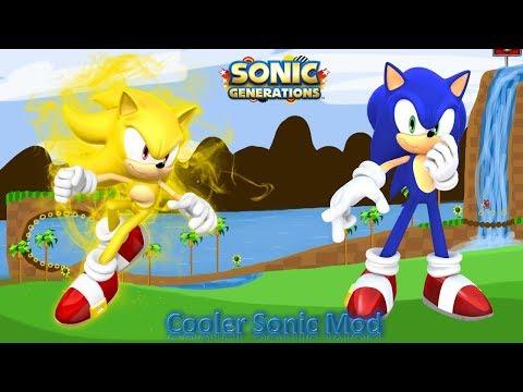 Sonic Generations Mod Part 156_ Cooler Sonic Mod (1080p60fps)