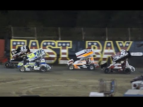 Top Gun Sprint Series at East Bay Raceway Park, 4-16-2016