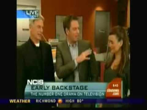 The Early Show - NCIS´ Mark Harmon, Michael Weatherly and Cote de Pablo 2009