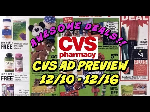 CVS AD PREVIEW 12/10 - 12/16 | AMAZING WEEK OF DEALS!!!!
