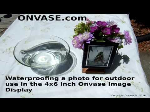 How To Waterproof A Picture For Outdoor Use In The Onvase Image Display