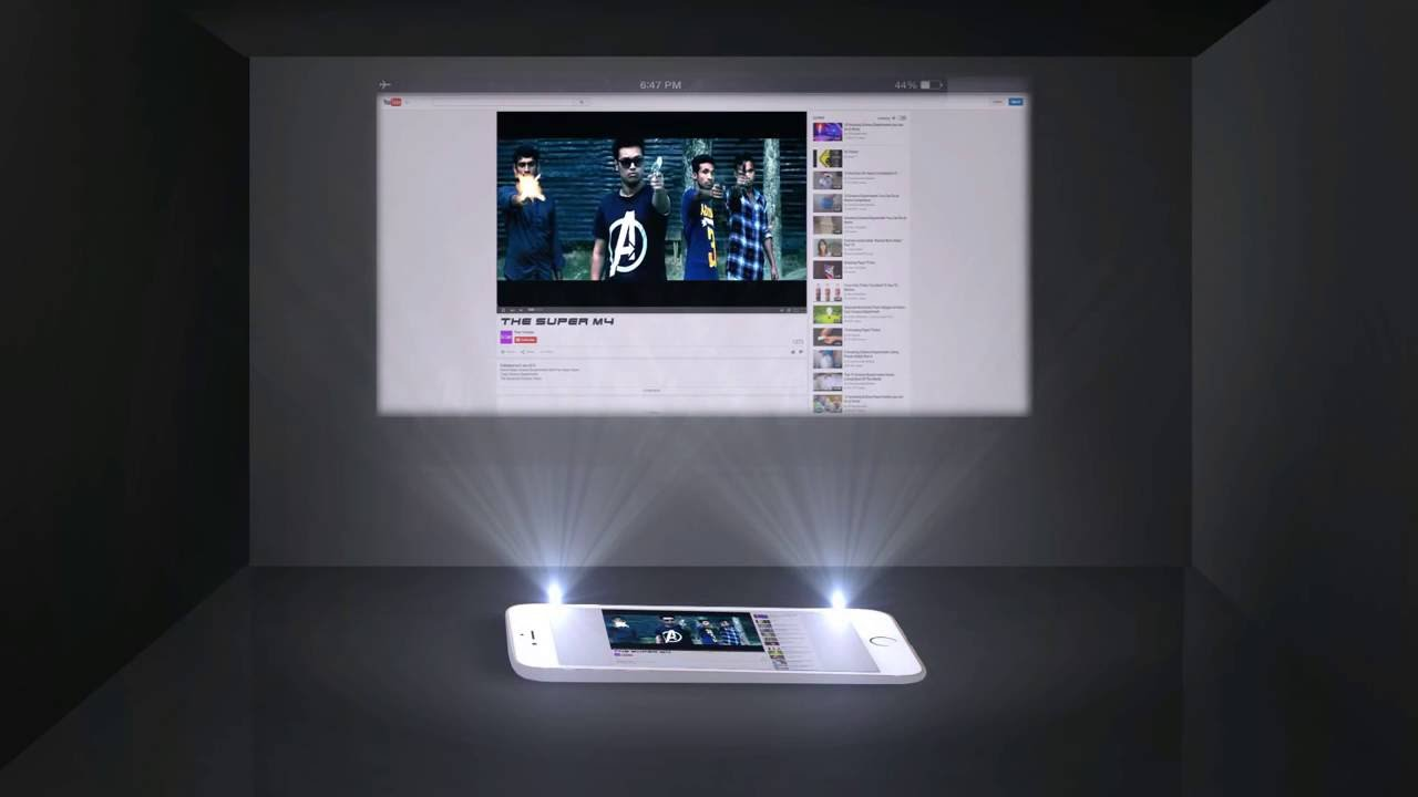 iphone 7 3d projector concept 1 youtube
