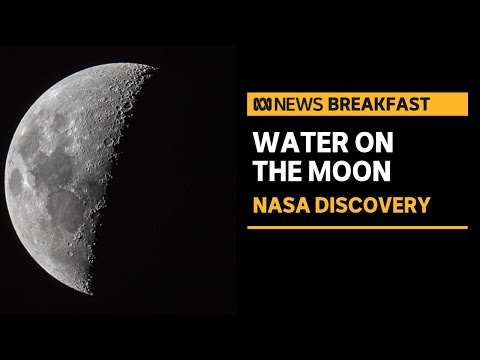NASA finds liquid water on the Moon, raising hopes for exploration and habitation | ABC News