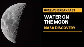 NASA finds liquid water on the Moon, raising hopes for exploration and habitation   ABC News