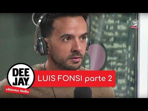 Radio Deejay: Luis Fonsi ,Despacito, a DJCI: prima intervista in europa.