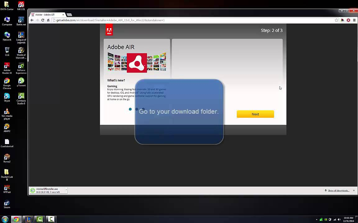 League of legends firewall error - adobe air fix!