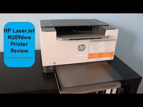 HP LaserJet M209dwe Full Review