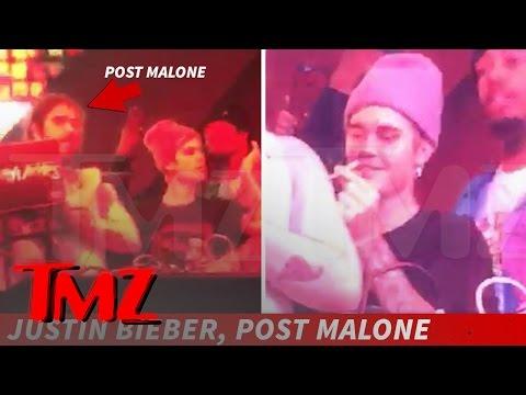 Justin Bieber Burns Post Malone   TMZ