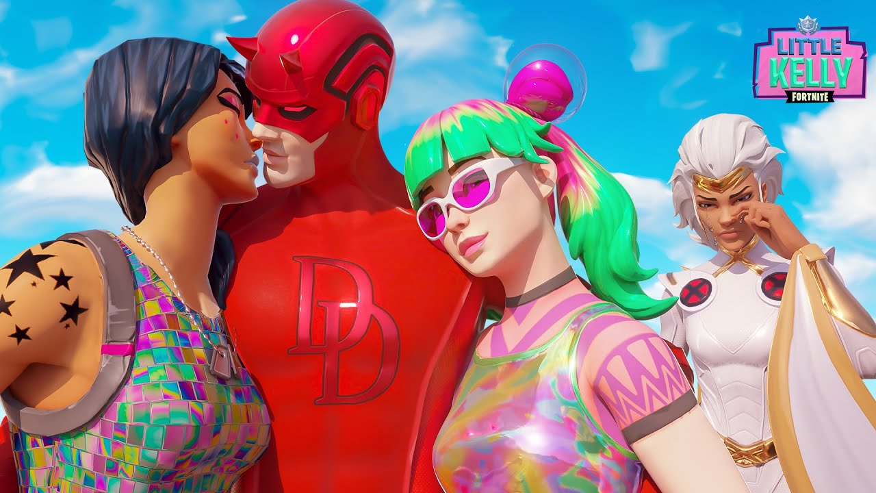 DAREDEVIL DUMPS STORM SO HE CAN GET WITH OTHER GIRLS | Fortnite Short Film