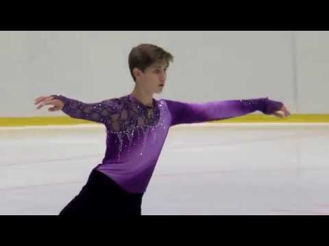 2016 ISU Junior Grand Prix - Tallinn - Men Free Skate - Roman SADOVSKY CAN