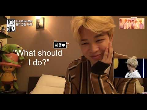 (Eng Sub) 방탄소년단 BTS DNA Comeback - 092117 - Jimin's Room