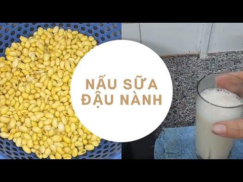 Hướng dẫn cách nấu sữa đậu nành tại nhà đơn giản  || món ngon mùa dịch  || Ẩm Thực Tiền Ta Qua