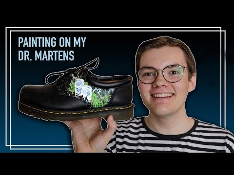 I Painted My Dr. Martens 🎨