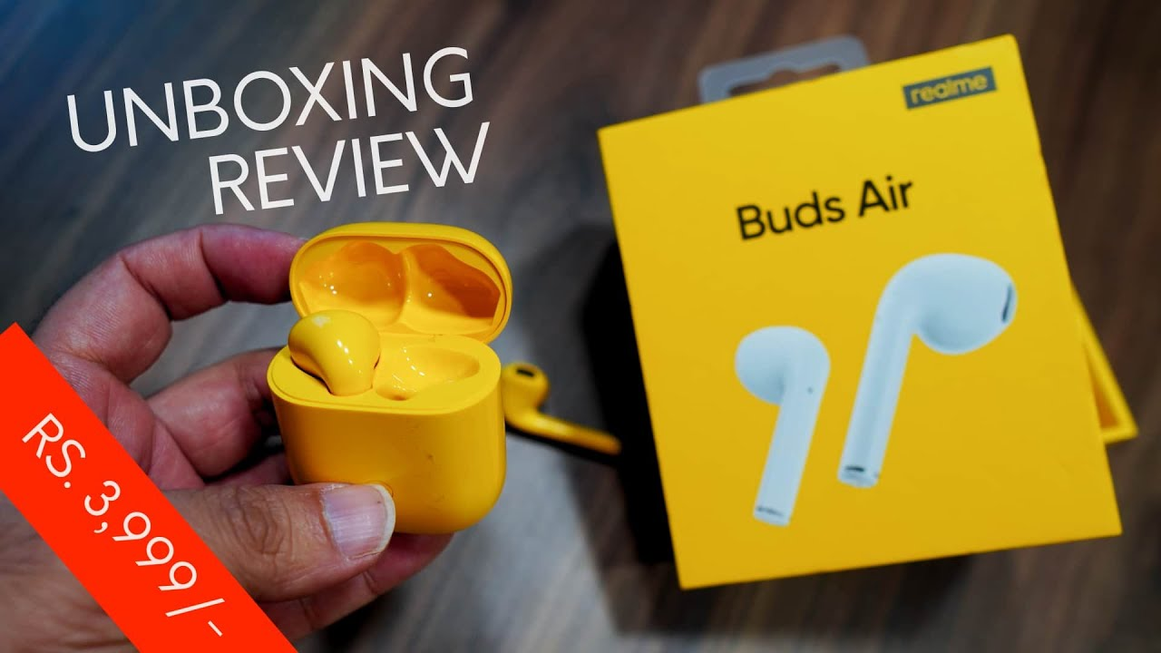Realme Buds Air Review The Best True Bluetooth Wireless Earbuds For Just Rs 3 999 Youtube