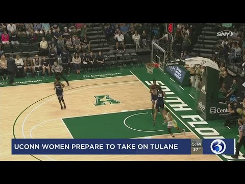 UConn women take on Tulane after falling in the rankings