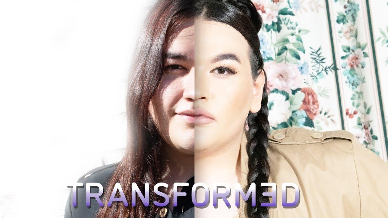 Transgender Woman Has Kim K Makeover | TRANSFORMED