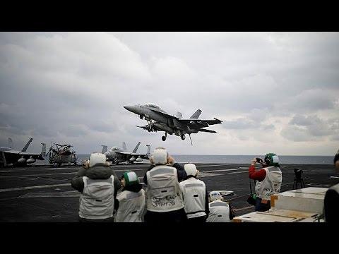 US warships are sent to the Korean peninsula