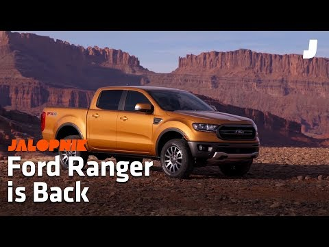The Ford Ranger is Finally Back | Detroit Auto Show