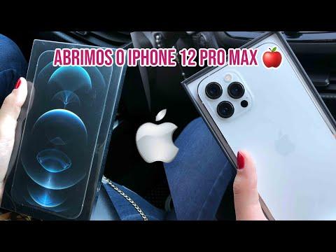 ABRINDO NOVO IPHONE 12 PRO MAX – unboxing