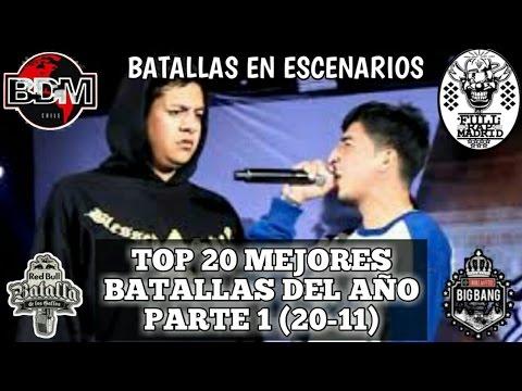 Top 20 Mejores Batallas Del Año 2016. #1