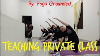 Yoga Private Class. My Led Class. Kelas Private.